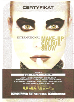 Make Up Colour Show
